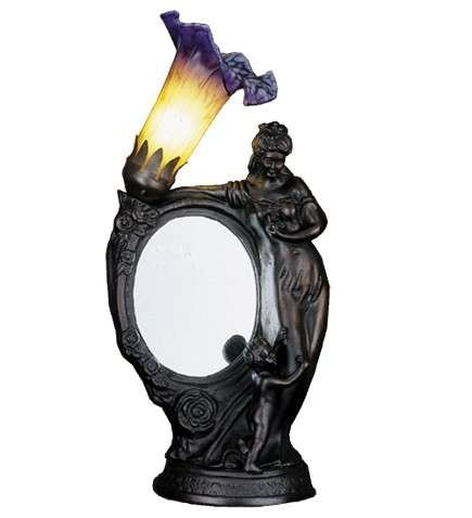 Meyda Tiffany Mother and Child Mirror- Lily Lamp