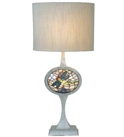 Meyda Cameo Dragonfly Lighted Base Table Lamp
