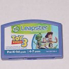 Leap Frog Leapster Toy Story 3~ Cartridge Only
