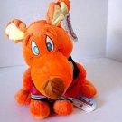 Nanco Animaland Stuffed Animal Dog With Varsity Jacket New With Tags