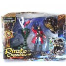 Pirate Expeditions Island Beast Figure Playset Small Cobra & Mad Gunn New in Box