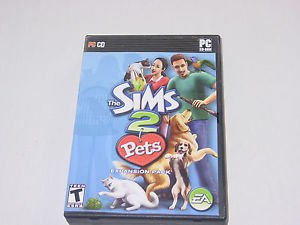 PC The Sims 2 Pets Expansion in Very Good Complete Condition