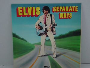 Elvis Separate Ways 1 LP Record   $4.99