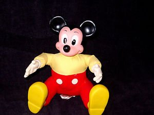 "Mickey Mouse Plush Toy Stuffed Character Doll 6"" Buy it now  $4.99"