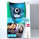 Logitech QuickCam Chat for Skype Web Cam - Headset Include  NEW IN BOX $5.99