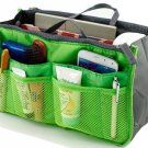 Green Makeup Bag Multi Function Travel Organizer Women Cosmetic Bags Travel Bag Ladies Bolsa