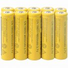 10Pcs 3.7V 9800mAh 18650 Li-ion Rechargeable Batteries For Torch Flashlight