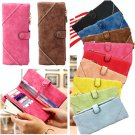 Fashion Women PU Leather Clutch Long Wallets Ladies Cell Phone Card Holder Purse Handbag