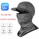 Summer Full Face Mask Cover Hat Riding Outdoor Head Neck Cap Sun protection Hats