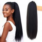 Ponytail Hair Extension Clip Synthetic Afro Kinky Straight Ponytail Hairpieces