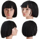 Shor Box Braid Bob Wig Synthetic Nonce Lace Front Braid Curly Wigs For Black Women
