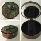 Trinket Jewelry Box With Mirror