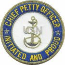 Chief Petty Officer Initiated Patch