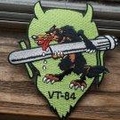 VT-84 DEVIL WOLF SQUADRON PATCH