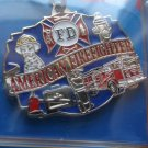 AMERICAN FIREFIGHTER KEY RING