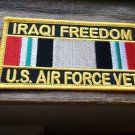 OIF US AIR FORCE VET RIBBON PATCH