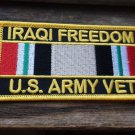 OIF US ARMY VET RIBBON PATCH