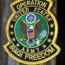 OIF U.S. ARMY SHIELD PATCH