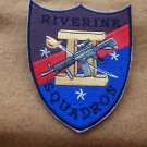 RIVERON 2 NAVAL RIVER SQUADRON PATCH