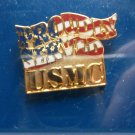 U.S. MARINE CORPS. PROUDLY SERVED PIN