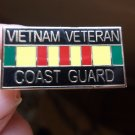 VIETNAM VETERAN USCG RIBBON PIN