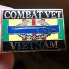 COMBAT VETERAN VIETNAM PIN