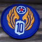USAAF 10TH AIR FORCE PATCH