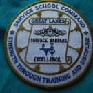 US NAVAL Service School Command Great Lakes Illinois Patch