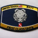 Navy First Class Diver Ratings Patch