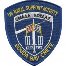 Naval Support Activity Station Souda Bay Crete Greece Patch