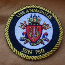 USS ANNAPOLIS SSN-760 SHIP PATCH