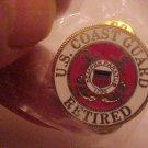 COAST GUARD LOGO RETIRED PIN