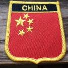 CHINA FLAG SHIELD PATCH