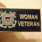 U.S. COAST GUARD WOMAN VETERAN PIN