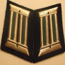 EAST GERMAN VOPO POLICE OFFICER COLLAR TABS