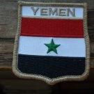 YEMEN FLAG SHIELD PATCH