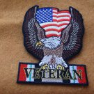 IRAQI FREEDOM VETERAN EAGLE AND AMERICAN FLAG PATCH