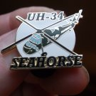 UH-34 SEAHORSE HELICOPTER PLANE PIN