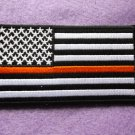 Thin Orange Line American Flag For Search & Rescue Patch