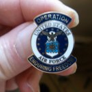 OPERATION ENDURING FREEDOM US AIR FORCE PIN