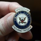 OPERATION ENDURING FREEDOM US NAVY PIN