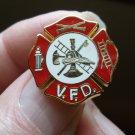 FIRE DEPARTMENT VOLUNTEER PIN
