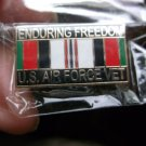 ENDURING FREEDOM US AIR FORCE VET RIBBON PIN