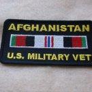 AFGHANISTAN U.S. MILITARY VET RIBBON PATCH