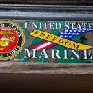 U.S.MARINES FREEDOM BUMPER STICKER