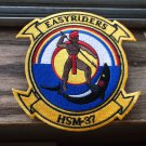U.S. NAVY HSM-37 HELICOPTER SQUADRON PATCH