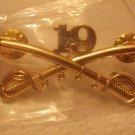 19TH CAVALRY REGIMENT HAT PIN