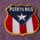 PUERTO RICO FLAG SHIELD PATCH