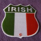IRISH FLAG SHIELD PATCH