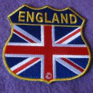 GREAT BRITAIN FLAG SHIELD PATCH